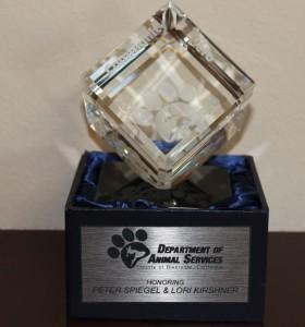 Community Hero Award -  Advancing the Interests of Animals